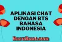 Aplikasi Chat Dengan BTS Bahasa Indonesia